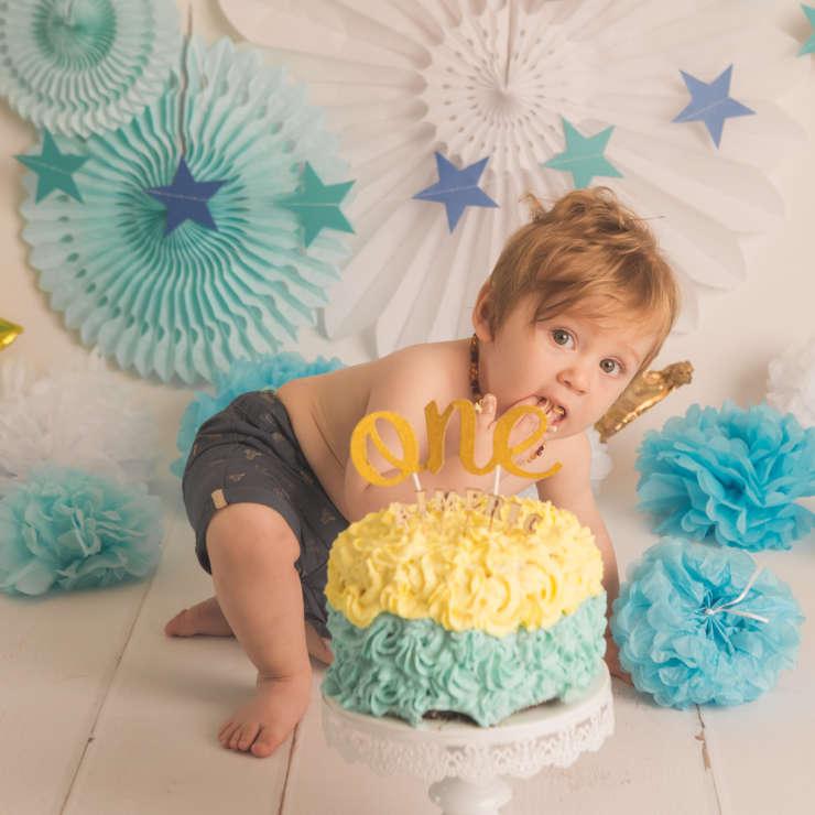 Cake Smash – 1er Anniversaire